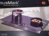 Плита комбинированная HausMark DB-YL03B (2 конфорки: индукция+инфракрасная)