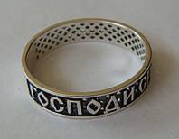 Кольцо 210310ЮМ, серебро 925 проба, чернение.