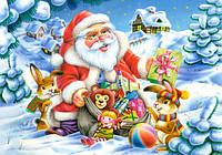 """Пазлы Касторленд на 500 элементов. """"Санта Клаус"""". Полный ассортимент. Польша оригинал. Быстрая доставка. Гарантия качества."""