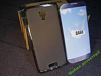 Чехол бампер силиконовый Lenovo S660 S668