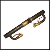 Байпас 50мм клапан длинный (латунный) 2 дюйма 280 мм
