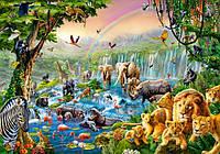 """Пазлы Castorland на 500 деталей. """"Река в джунглях"""". Полный ассортимент. Польша оригинал. Быстрая доставка. Гарантия качества."""