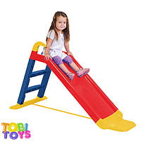 Горка детская пластиковая TOBI TOYS 140 см.