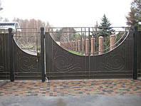 Кованые ворота арт.в 14
