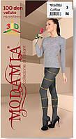 Женские колготки Modamia  Velluto 100 den, 5 размер  Колготки, grafite
