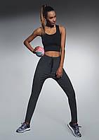 Стильные молодежные спортивные штаны Lorena TM Bas Bleu (Польша) Супер качество! Цвет графит