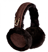 Наушники  Ugg double u logo earmuffs chocolate Оригинал