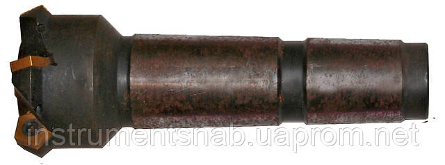 Фреза концевая  63,0 мм с мех. кр.5-гран. плас. Т5К10