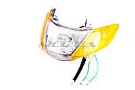 """Фара (в сборе) на скутер   Suzuki LET'S 1   """"KOMATCU"""""""