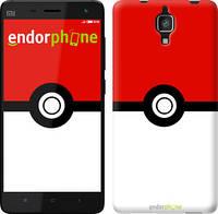 "Чехол на Xiaomi Mi4 Покемоны pokemon go ""3768u-163"""