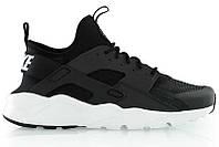 Nike Air Huarache Ultra Black White, фото 1