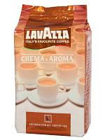 Кофе Lavazza Crema Aroma в зернах 1 кг, Лавазза Крем Арома Коричневая уп. зерно 1 кг.
