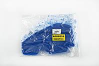 Элемент воздушного фильтра на скутер   Suzuki ADDRESS INJECTION   (поролон с пропиткой)   (синий)