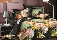 """Комплект постельного белья """"Viluta"""" сатин - люкс Двухспальный Вилюта № 482"""