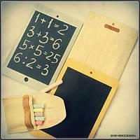 Детский планшет меловая доска BabyBro Mini 13 х22х0,7см