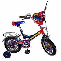 Детский двухколесный велосипед Спайдермен