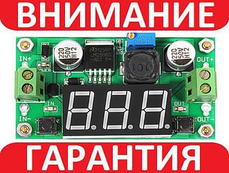 Понижающий преобразователь с вольтметром LM2596 3A 15Вт