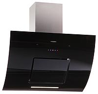 Pyramida HES 30 G-900 black (900 мм.) черное гнутое стекло / нержавеющая сталь