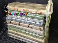 Матрац ортопедичний в дитячу ліжечко двошаровий (кокос+поролон) 120х60х6 см
