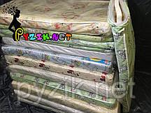 Матрас ортопедический в детскую кроватку трехслойный (кокос+поролон+кокос) 120х60х7 см