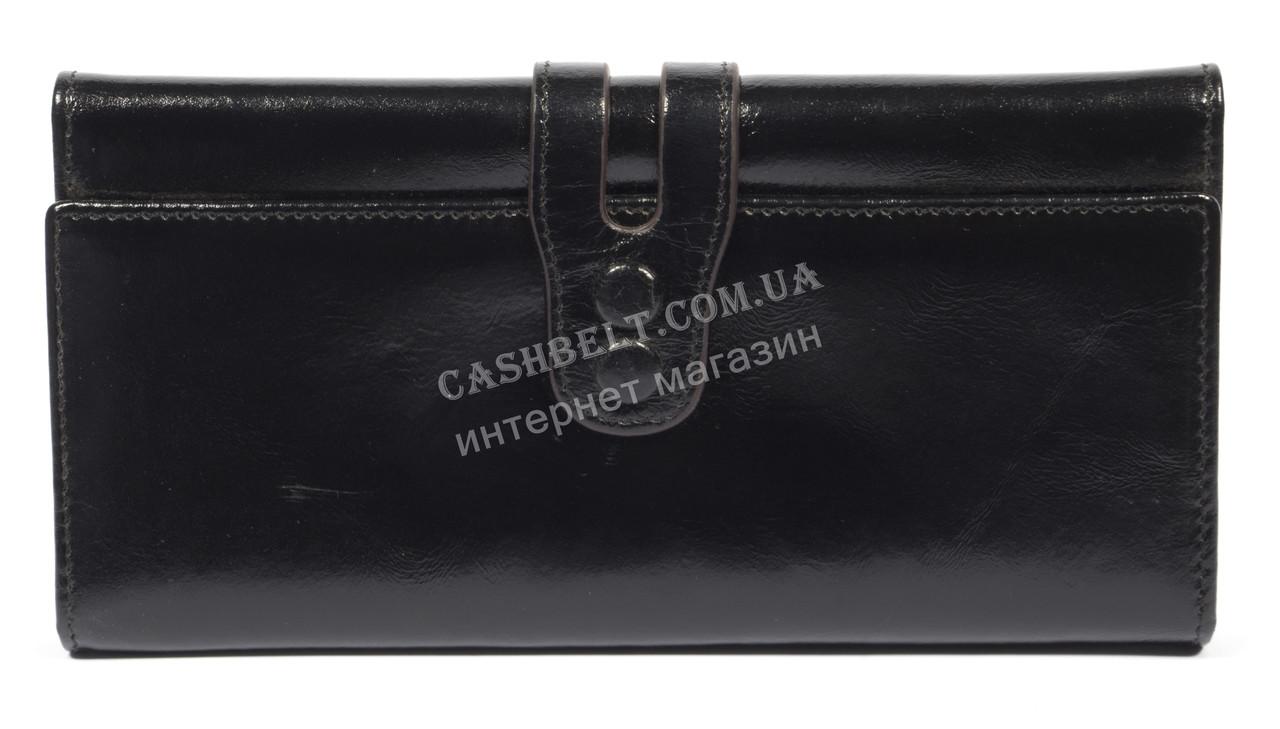 Удобный женский кожаный кошелек  высокого качества SALFEITE art. 704-2015B черн