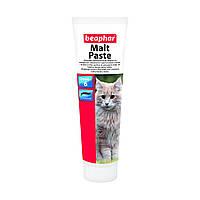 Витамины Малт Паста 100г Беафар (для выведения шерсти из желудка котов)