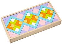 Детский деревянный конструктор орнамент LR-1 TM Cubika