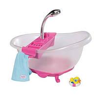 Интерактивная ванночка для куклы Baby Born Забавное купание Zapf (818183)