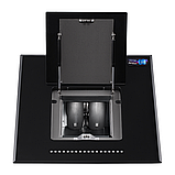 Pyramida HES 30 D-600 black/AJ наклонная кухонная вытяжка, черное стекло с мотором Aero2Jet, фото 2