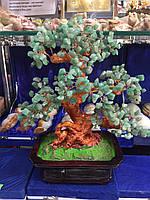 Дерево из натурального камня Нефрит