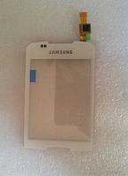 Оригинальный тачскрин / сенсор (сенсорное стекло) для Samsung Galaxy Mini S5570 (белый цвет)