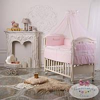 Комплект для детей Принцесcа розовый (ткань сатин)