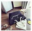 Черная женская тканевая пляжная сумка, фото 2