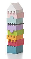 Детский деревянный конструктор — пирамидка LD-2 TM Cubika