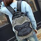 Черный рюкзак Горилла., фото 2
