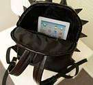 Черный рюкзак Еж маленький, фото 3