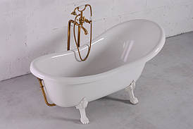 Ванна Fancy Marble Lady Hamilton + Белые ноги