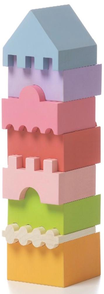 Деревянная пирамидка LD-4 TM Cubika (11339)