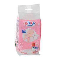 Подгузники для куклы Baby Born, 5 шт. Zapf (815816)