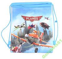 Детский рюкзак на шнурке Самолетики