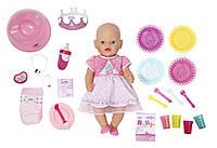 Кукла Zapf Baby Born С Днем Рождения 43 см с чипом и аксессуарами (822036)