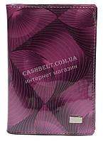 Стильная лаковая кожаная документница высокого качества WILDNESS art. 2106-C63 фиолетовый, фото 1