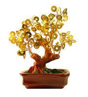 Дерево с монета - Денежное дерево - для привлечения богатства