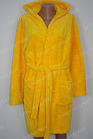 Махровый женский халат на запах M, L, XL, XXL