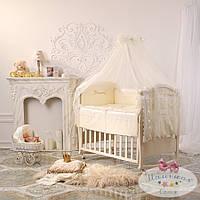 Комплект для детей Принцесса ванильный (ткань сатин)
