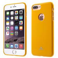 "TPU чехол Mercury Jelly Color series для Apple iPhone 7 / 8 (4.7"")             Желтый"