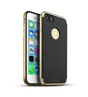 """Чехол iPaky TPU+PC для Apple iPhone 7 plus / 8 plus (5.5"""") Черный / Золотой"""