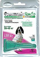 Merial Frontline Combo  (Фронтлайн Комбо) L капли для собак от 20 до 40 кг 1пипетка