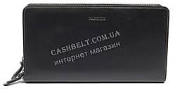 Вместительная мужская сумка барсетка органайзер с качественной кожи HASSION art. H-032 черн