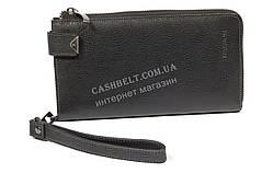 Вместительная мужская сумка барсетка органайзер с качественной кожи HASSION art. LF301-1 черн
